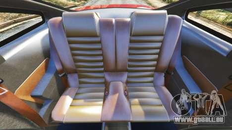 GTA 5 Ford Mustang GT 2005 Lenkrad