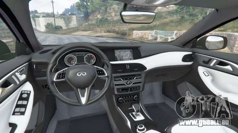 GTA 5 Infiniti Q30 2016 rechte Seitenansicht