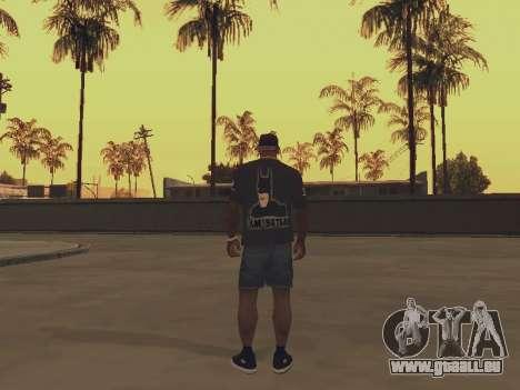 T-shirt ich bin BATMAN für GTA San Andreas
