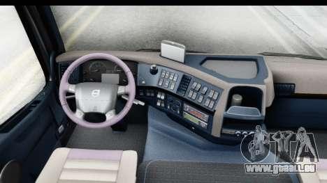 Volvo FMX Euro 5 v2.0.1 für GTA San Andreas Innenansicht