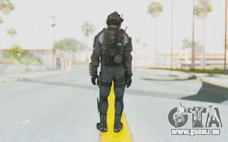 Federation Elite Shotgun Original pour GTA San Andreas troisième écran