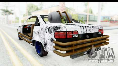 Chevrolet Caprice 2012 End Of The World pour GTA San Andreas vue de droite