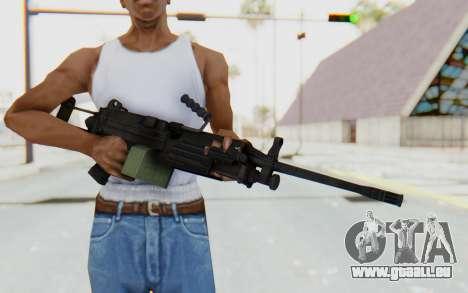 FN Minimi M249 Para für GTA San Andreas
