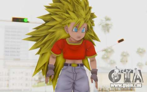 Dragon Ball Xenoverse Pan SSJ3 für GTA San Andreas