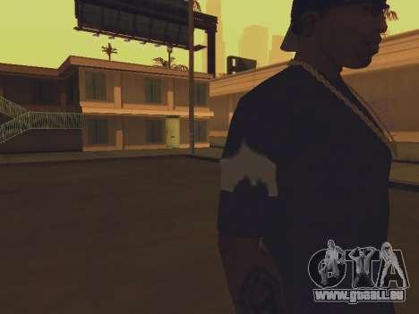 T-shirt ich bin BATMAN für GTA San Andreas dritten Screenshot