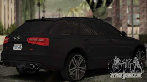 Audi S6 für GTA San Andreas linke Ansicht