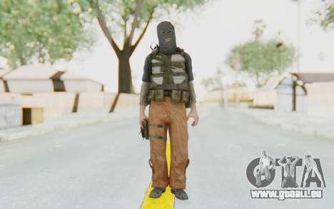 CoD MW3 Suicide Bomber für GTA San Andreas zweiten Screenshot