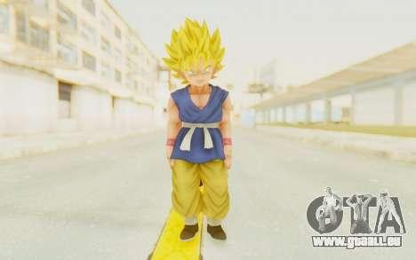 Dragon Ball Xenoverse Goku Kid GT SSJ pour GTA San Andreas deuxième écran