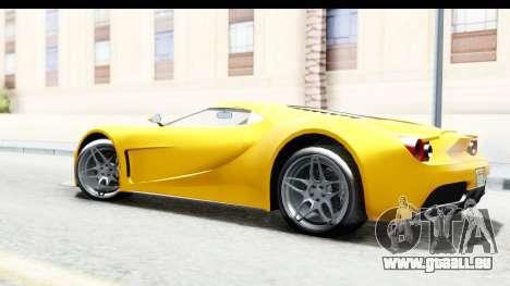 GTA 5 Vapid FMJ pour GTA San Andreas laissé vue