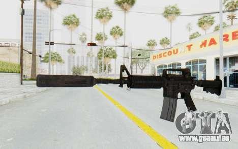 Assault M4A1 Silenced pour GTA San Andreas