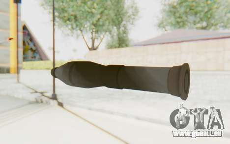 Missile from TF2 pour GTA San Andreas troisième écran