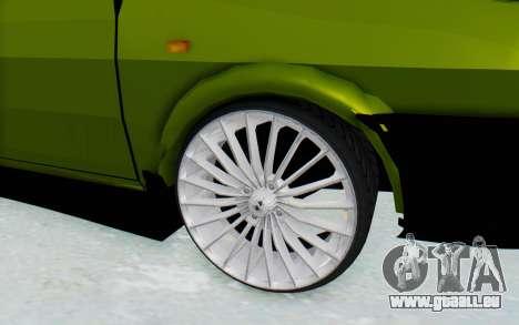 Dacia 1300 4x4 pour GTA San Andreas vue arrière
