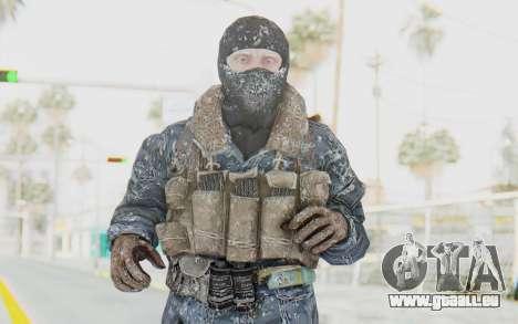 COD BO Russian Soldier Winter Balaclava für GTA San Andreas