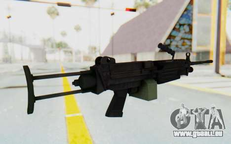 FN Minimi M249 Para pour GTA San Andreas troisième écran
