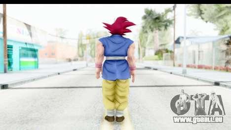 Dragon Ball Xenoverse Goku GT Adult SSG pour GTA San Andreas troisième écran
