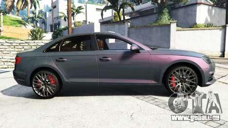 Audi A4 2017 [add-on] v1.1 pour GTA 5