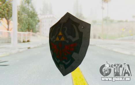 Hylian Shield HD from The Legend of Zelda pour GTA San Andreas