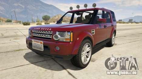 Land Rover Discovery 4 für GTA 5