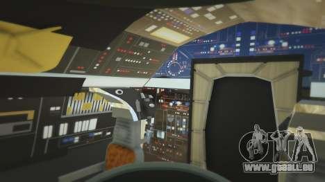 GTA 5 Star Wars Millenium Falcon 5.0 septième capture d'écran