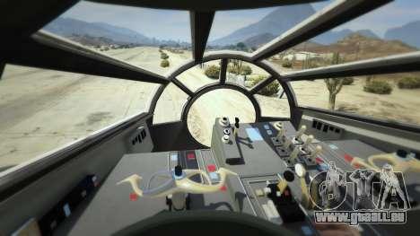 GTA 5 Star Wars Millenium Falcon 5.0 sixième capture d'écran