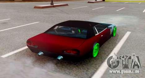 JDM Elegy für GTA San Andreas linke Ansicht