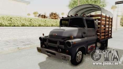 Chevrolet 56 Mini C.O.E. für GTA San Andreas rechten Ansicht