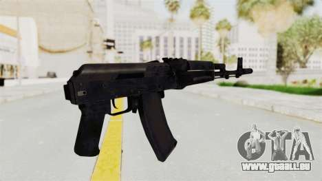 AK-74M v2 pour GTA San Andreas troisième écran