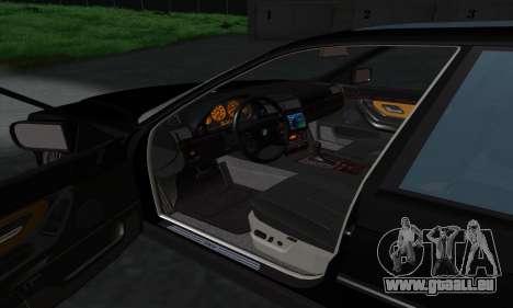 BMW 740i E38 pour GTA San Andreas vue de côté