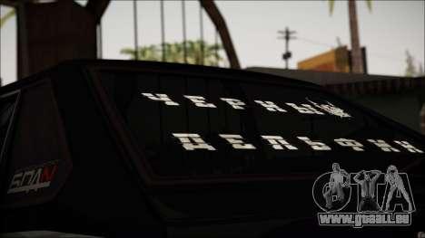 2109 Clochard pour GTA San Andreas vue arrière