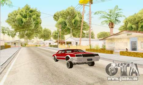New Tahoma from GTA 5 pour GTA San Andreas vue de droite