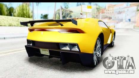 GTA 5 Pegassi Reaper v2 IVF für GTA San Andreas rechten Ansicht