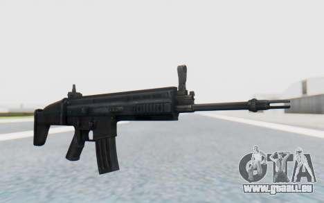 SCAR-L für GTA San Andreas zweiten Screenshot