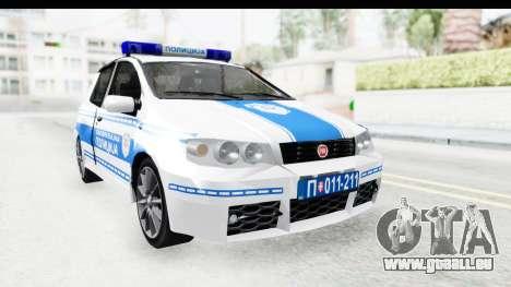 Fiat Punto Mk2 Policija pour GTA San Andreas