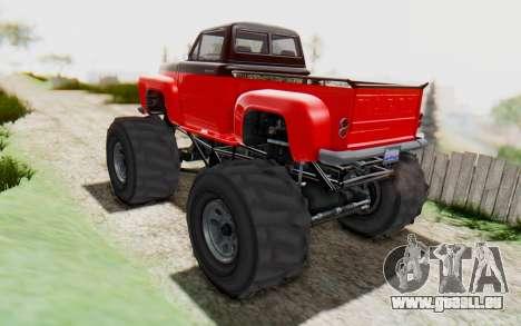 GTA 5 Vapid Slamvan XL v2.1 pour GTA San Andreas laissé vue