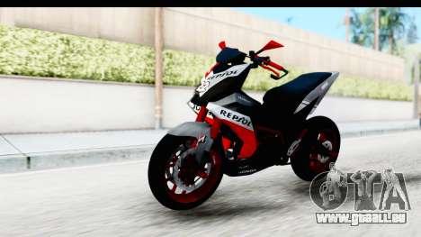 Honda Supra GTR 150 pour GTA San Andreas