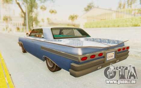 GTA 5 Declasse Voodoo Alternative v2 PJ pour GTA San Andreas laissé vue