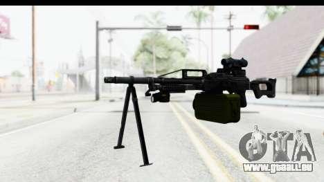 Kalashnikov PK (PKM) pour GTA San Andreas deuxième écran
