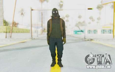 The Division Cleaners - Shield pour GTA San Andreas deuxième écran