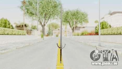 The Witcher 3: Wild Hunt - Sword v1 pour GTA San Andreas deuxième écran