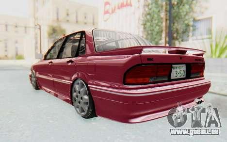Mitsubishi Galant VR4 1992 für GTA San Andreas zurück linke Ansicht