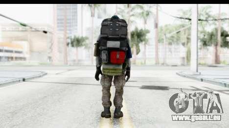 The Division Last Man Battalion - Medic pour GTA San Andreas troisième écran