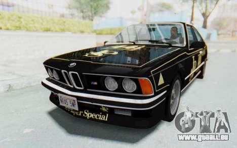 BMW M635 CSi (E24) 1984 HQLM PJ3 pour GTA San Andreas roue