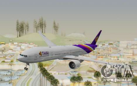 Boeing 777-300ER Thai International Airways pour GTA San Andreas