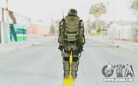 CoD AW US Marine Assault v3 Head C pour GTA San Andreas troisième écran