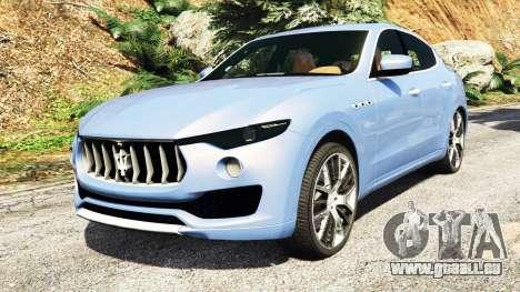 Maserati Levante 2017 [add-on] für GTA 5