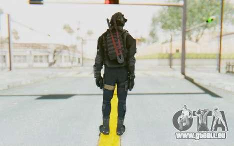 Federation Elite SMG Tactical für GTA San Andreas dritten Screenshot