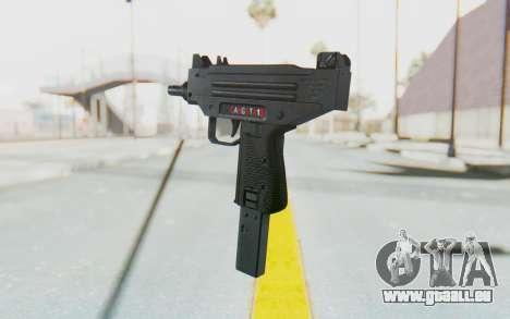 Mini Micro Uzi v1 für GTA San Andreas dritten Screenshot