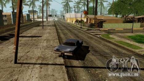 GeForce ENB pour la faiblesse du PC pour GTA San Andreas cinquième écran