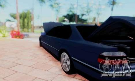 BMW 750 für GTA San Andreas Seitenansicht