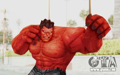 Marvel Future Fight - Red Hulk pour GTA San Andreas